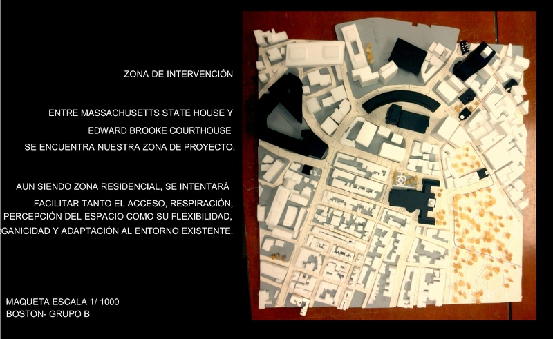 Zona de intervención Superblock.
