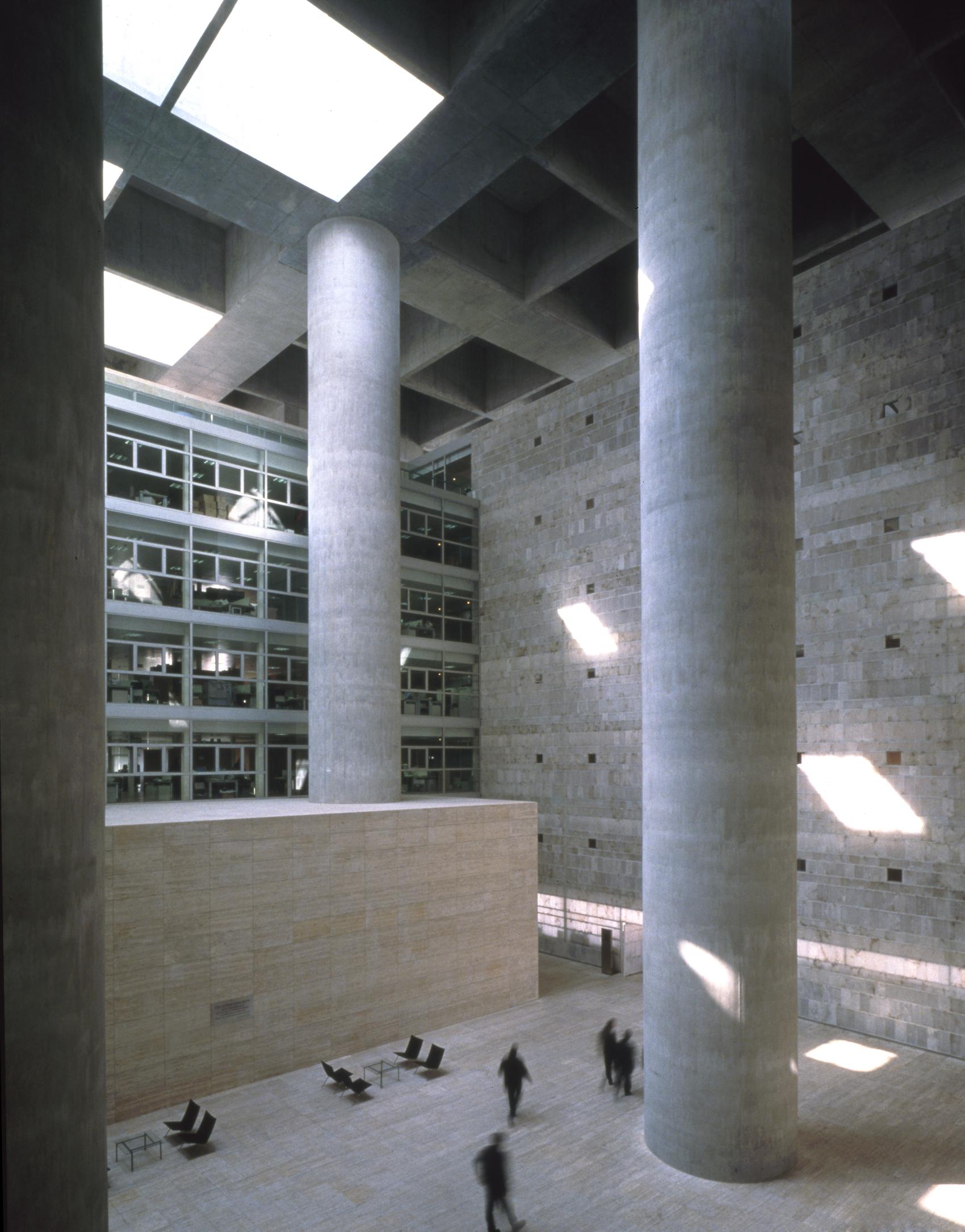 Doyoucity referencias de la ciudad an loga granada - Caja de arquitectos granada ...